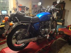 Servis motorky Honda CB500 Four