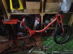 Renovace mopedu - Babetta
