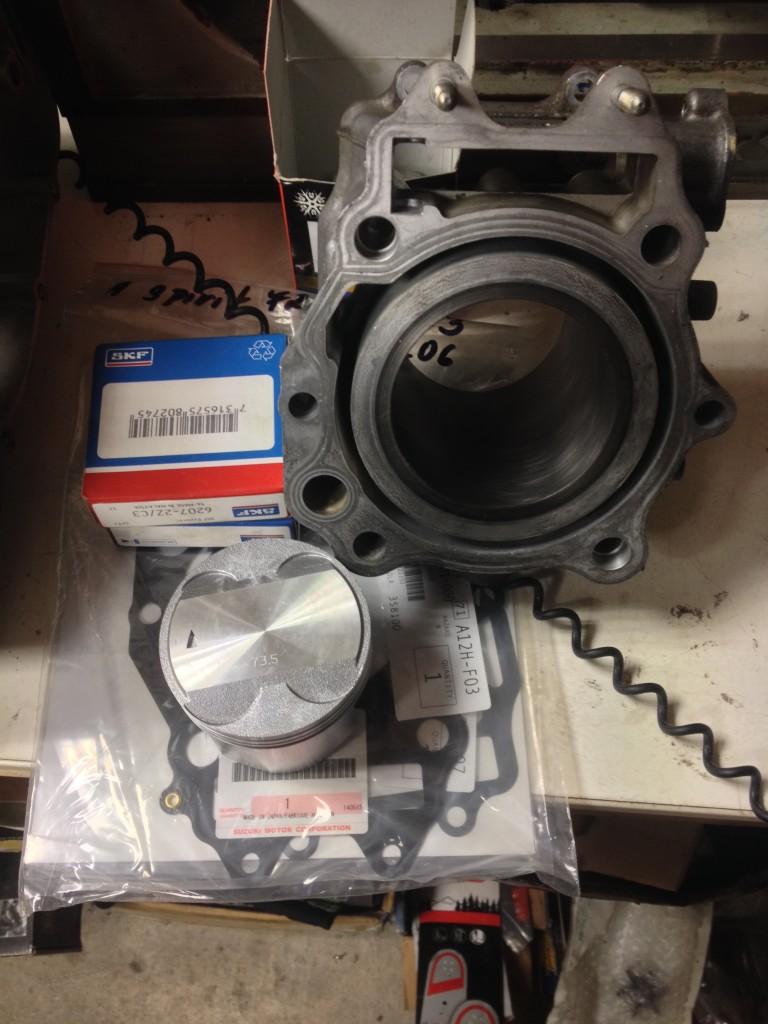 Generální oprava motoru - Suzuki Burgman