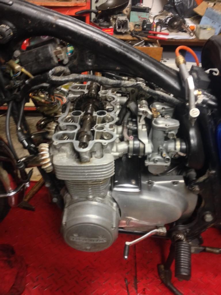 Seřízení ventilů - Honda