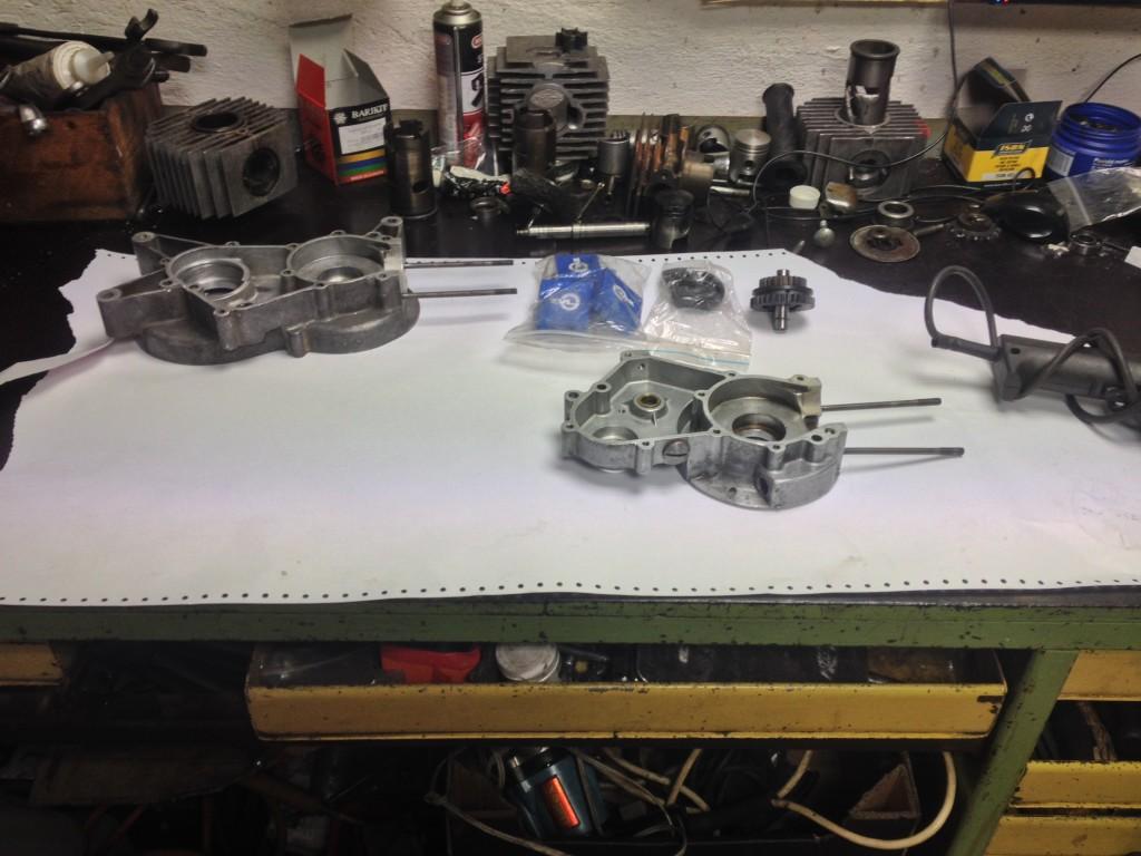 Generální oprava motoru - Babetta 210