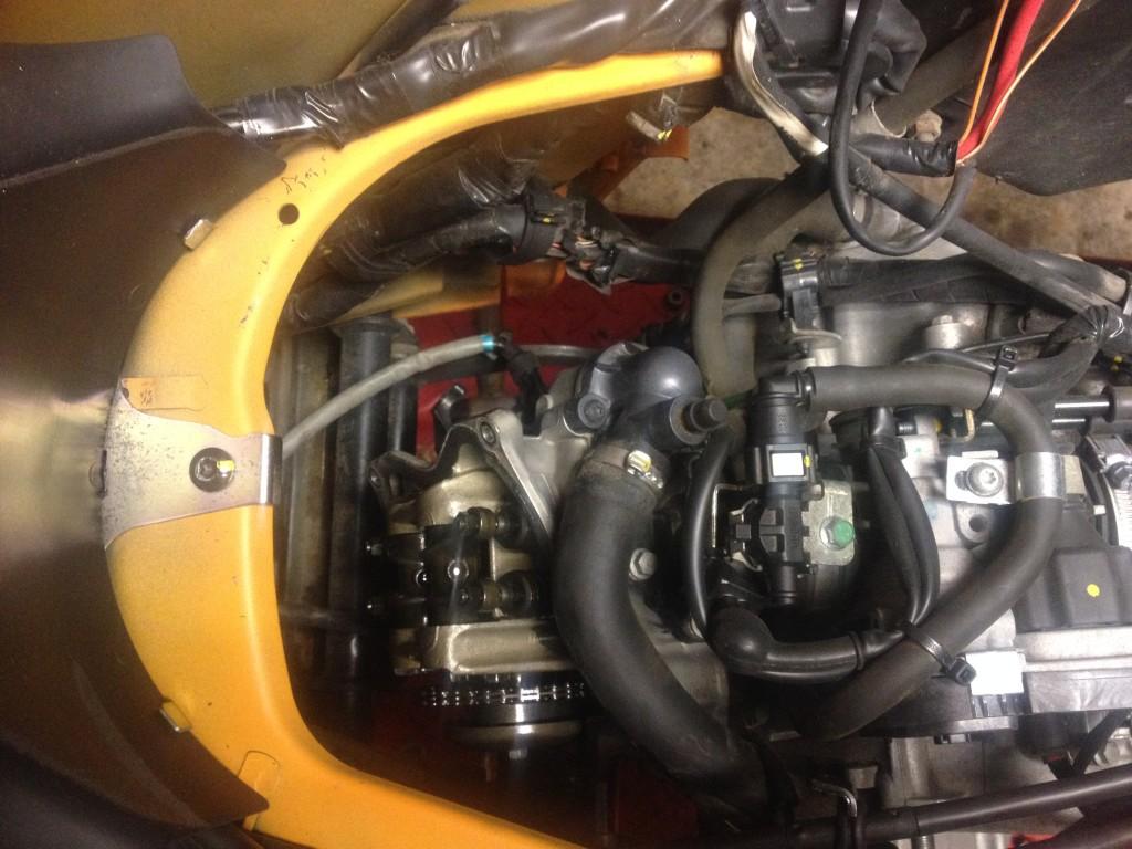 Oprava motoru - Vespa