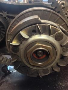 Oprava motoru a variátoru Piaggio